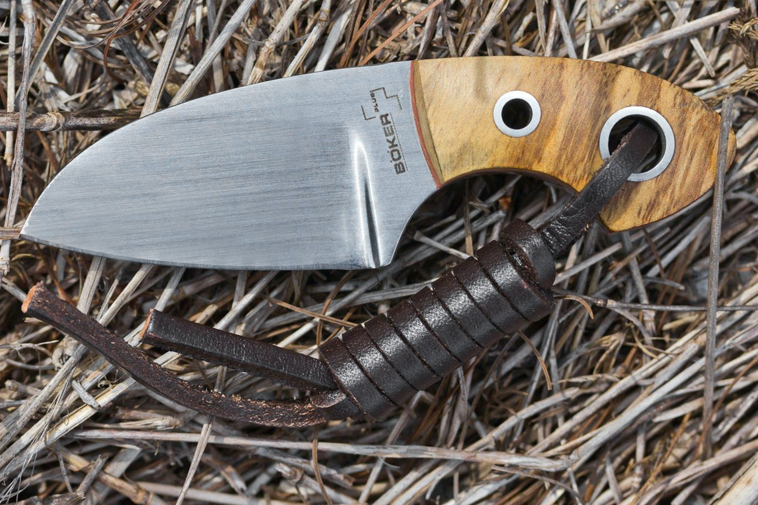 Boker Plus Voxknives Gnome w/ Olivewood Handle