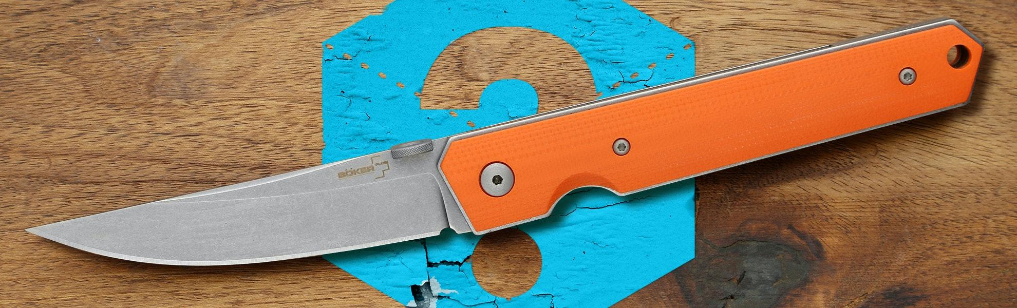 Blue Box: Boker Plus Burnley Kwaiken Folding Knife