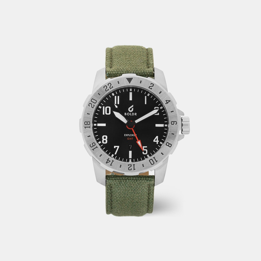BOLDR Explorer GMT Quartz Watch
