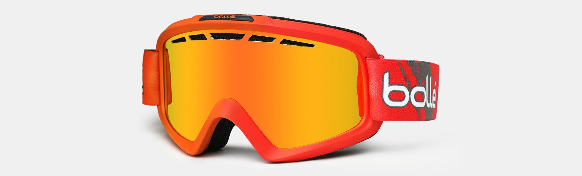 Bolle Nova II Men's Double Lens Snow Goggles