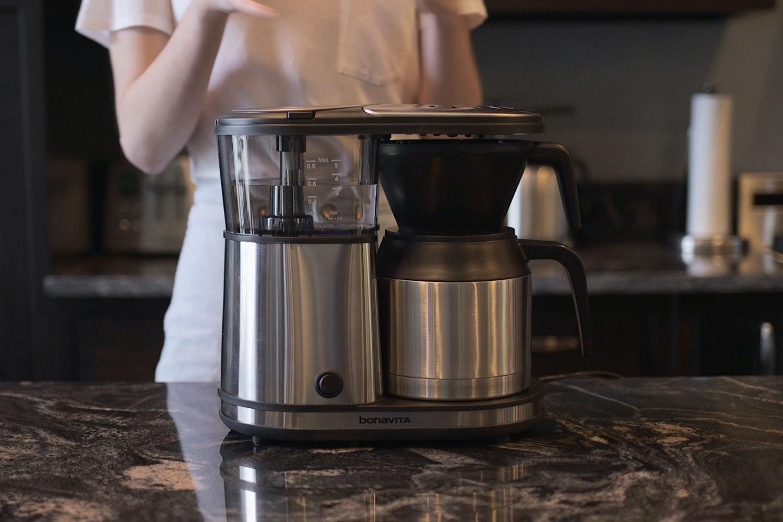 Bonavita 5-Cup Stainless Steel Coffee Brewer