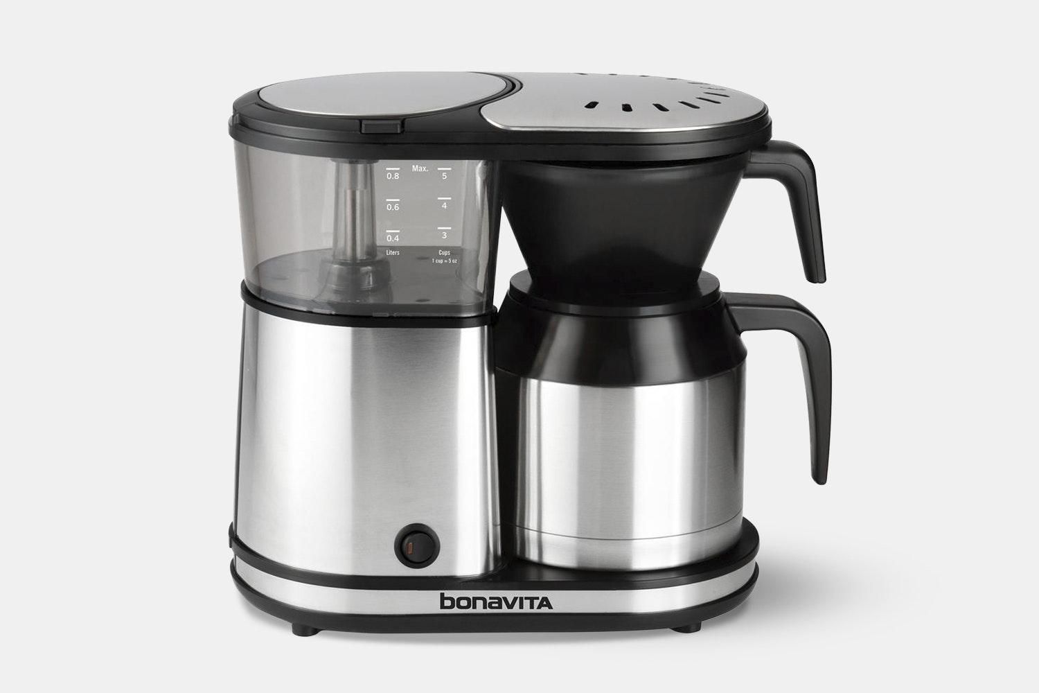 Bonavita 5-Cup Stainless Steel Coffee Brewer