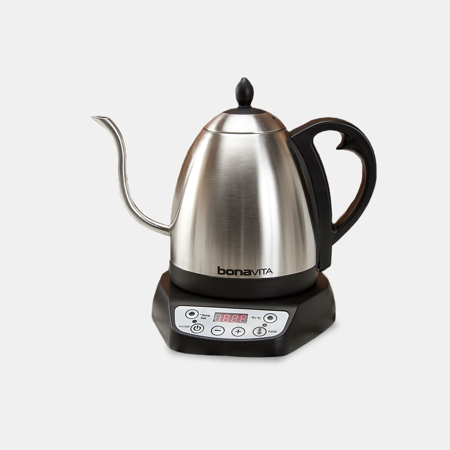 Bonavita 1L Gooseneck Variable-Temp Electric Kettle