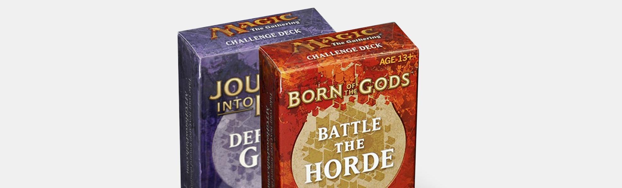 Born of the Gods & Journey Into Nyx Challenge Decks