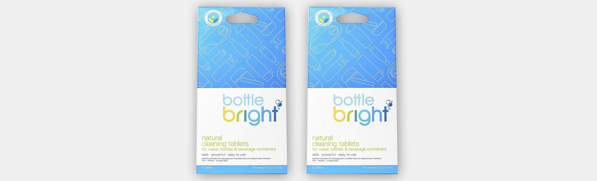 Bottle Bright All-Natural Cleaning Tablets (2-Pack)