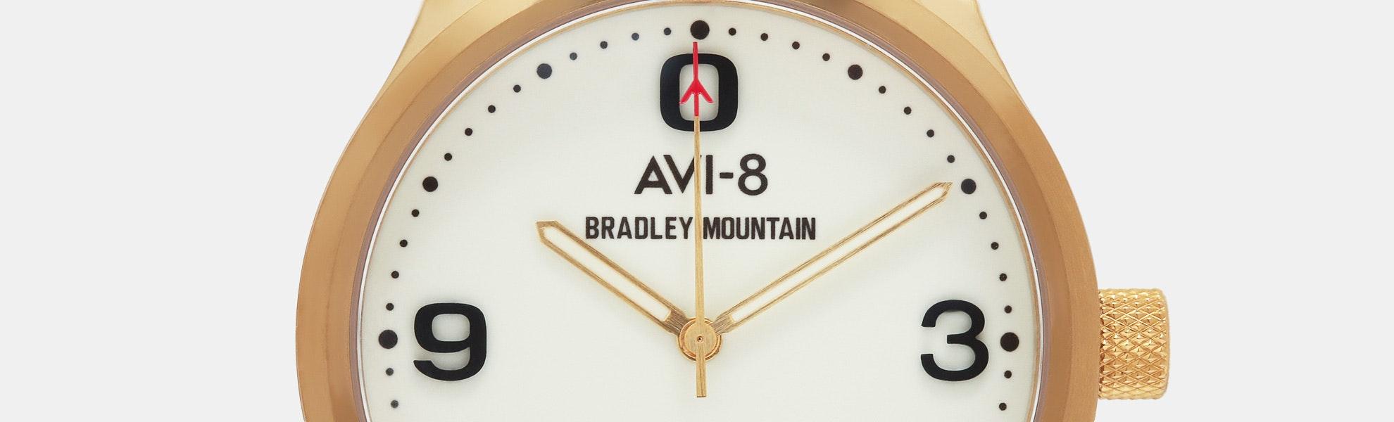 Bradley Mountain x AVI-8 Aviator Automatic Watch