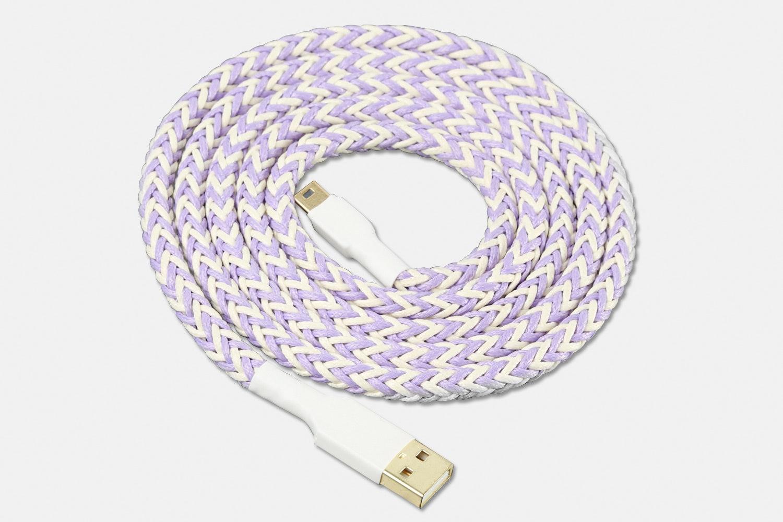 White / Purple