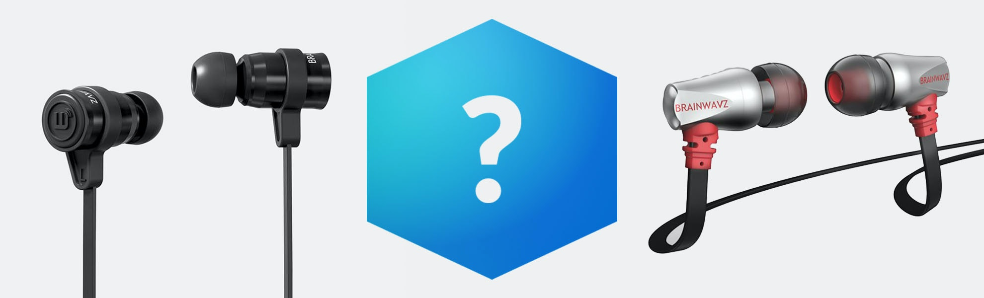 Massdrop Blue Box: Brainwavz IEMs