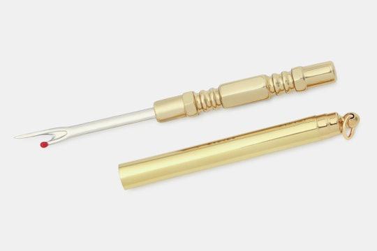 Brass Seam Ripper & Stiletto