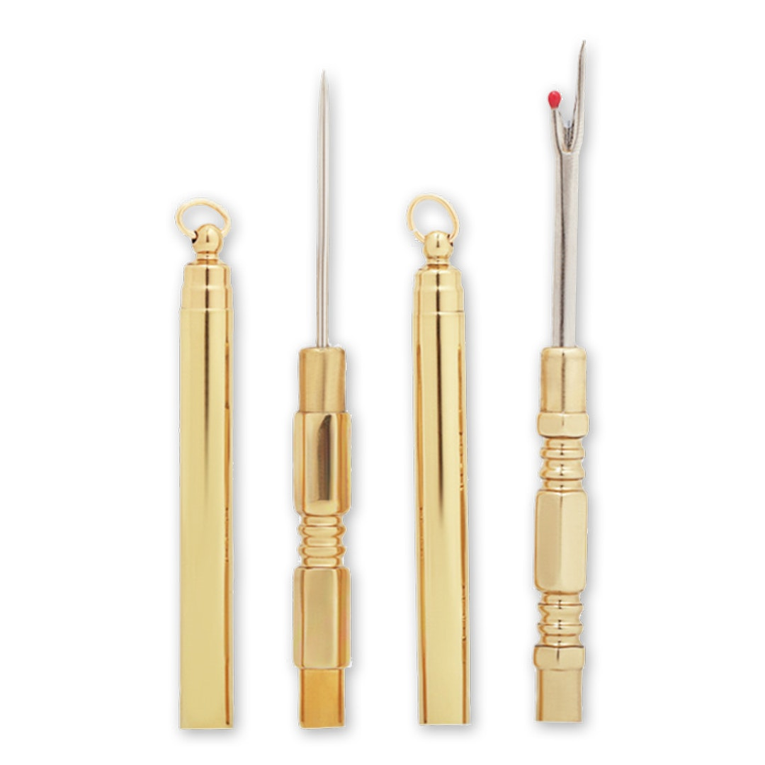 Brass Seam Ripper & Stiletto