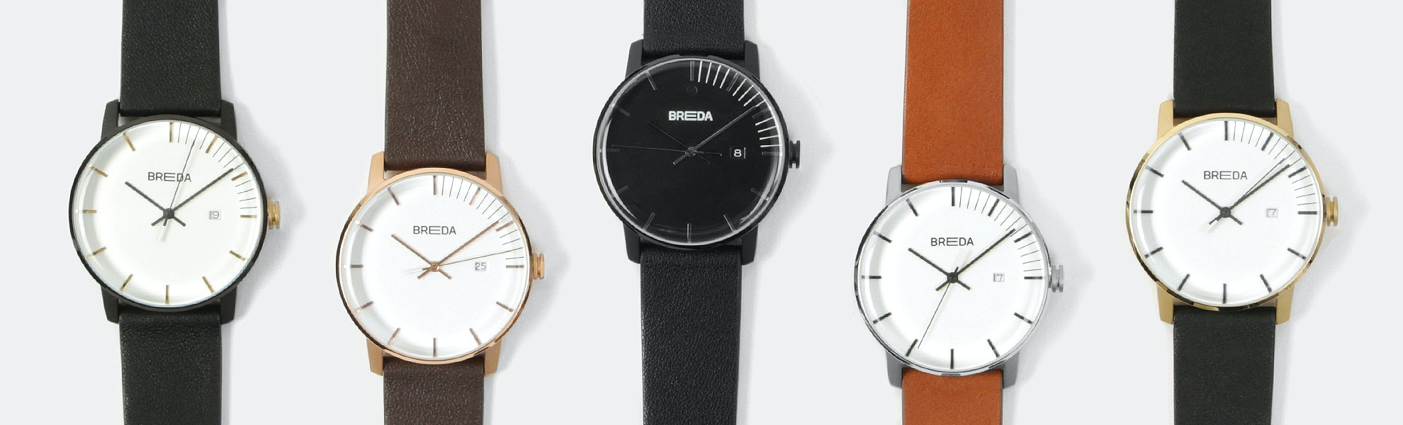 Breda Phase Quartz Watch