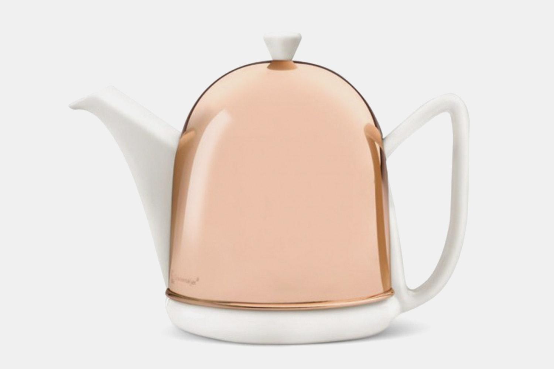 White – Glossy Copper