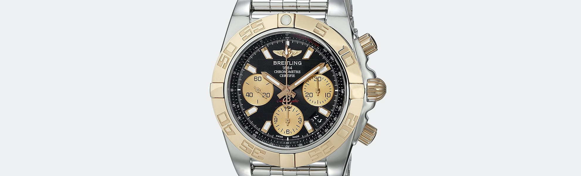 Breitling Two-Tone Chronomat 41 Automatic Watch