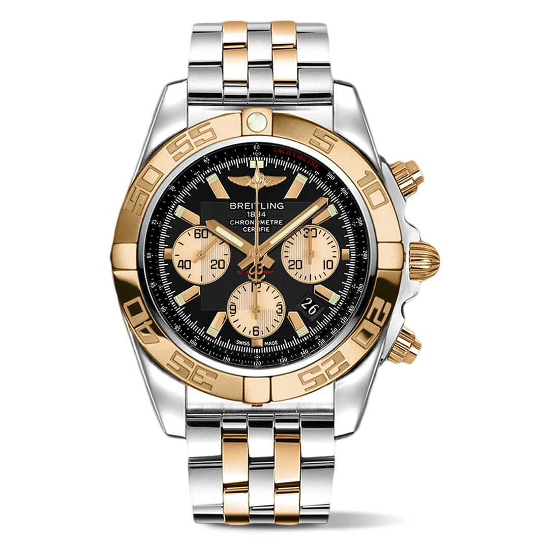Breitling Two-Tone Chronomat 44 Automatic Watch