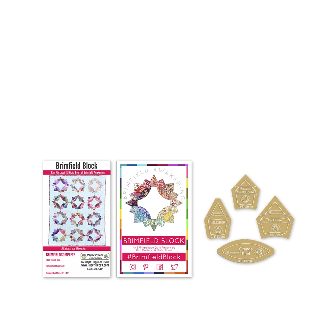 Brimfield Block Paper-Piecing Bundle