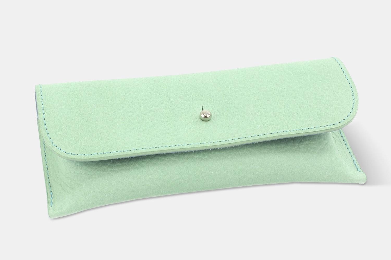Glasses Case - Mint/Skye Blue