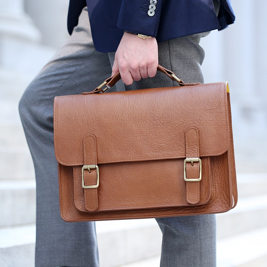 British Belt Co. Kingston Satchel