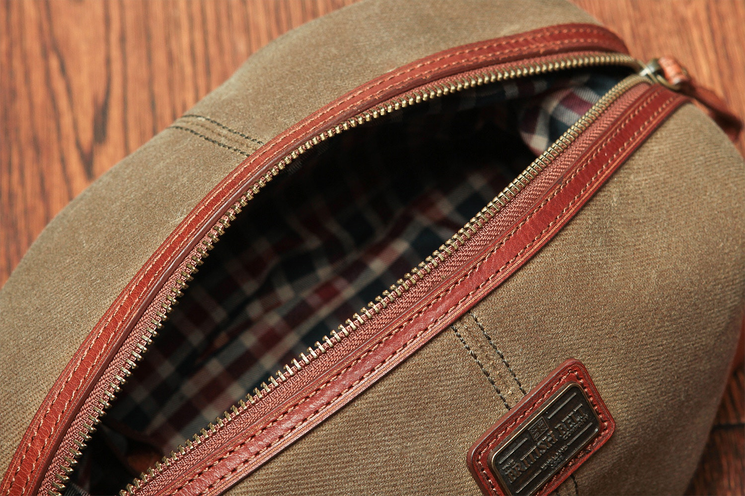 British Belt Co. Langdale Wash Bag