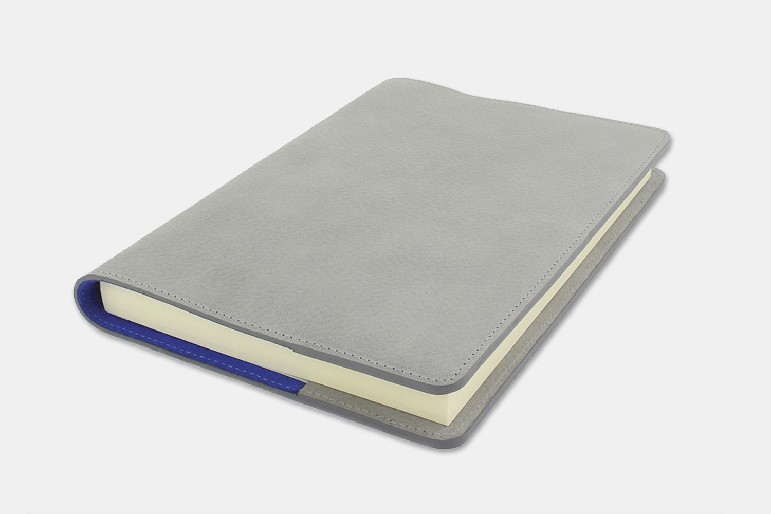Notebook Cover - Gray/Blue  (+ $30)