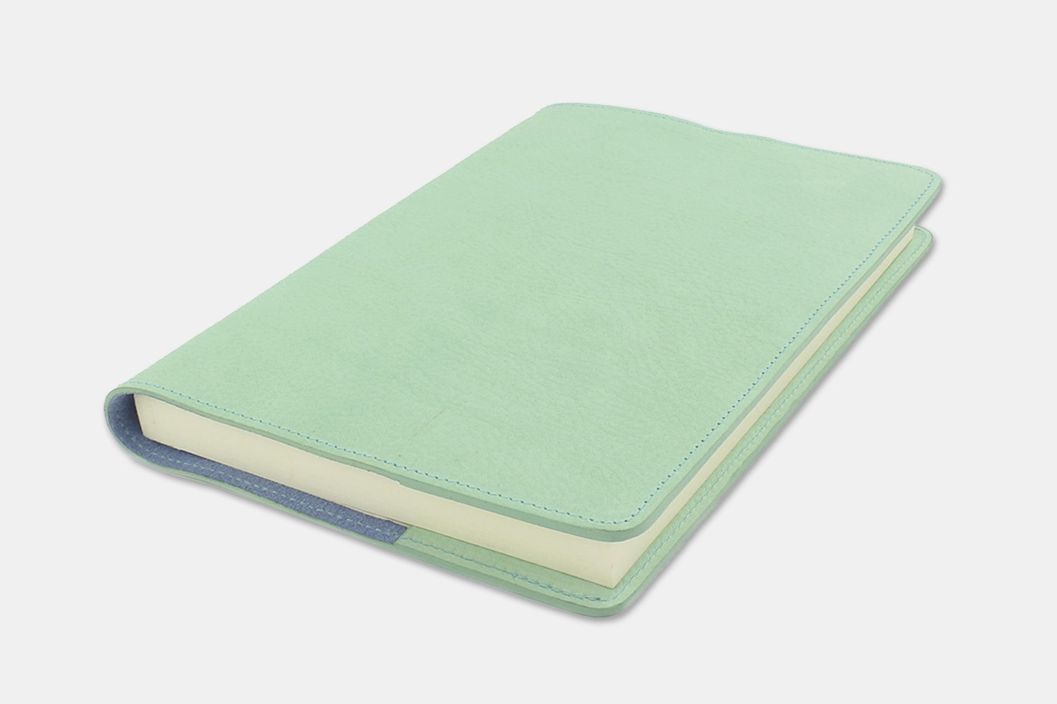 Notebook Cover - Mint/Sky Blue  (+ $30)