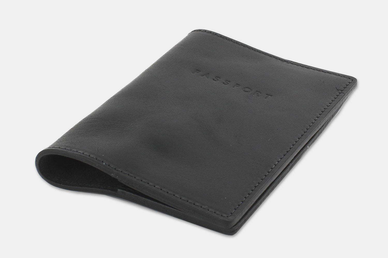 Passport Holder - Black (+ $10)