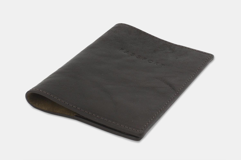 Passport Holder - Brown (+ $10)