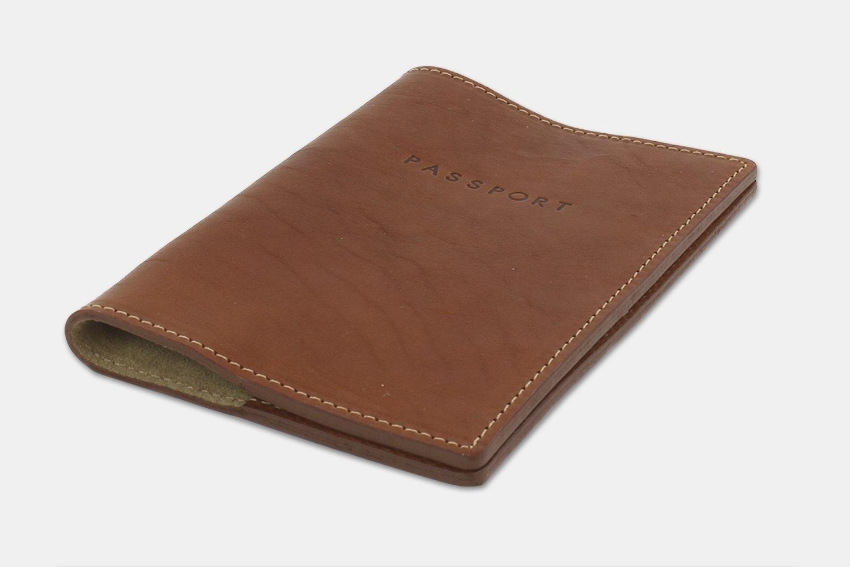 Passport Holder - Tan (+ $10)