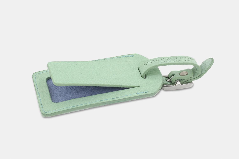Luggage Tag - Mint/Sky Blue