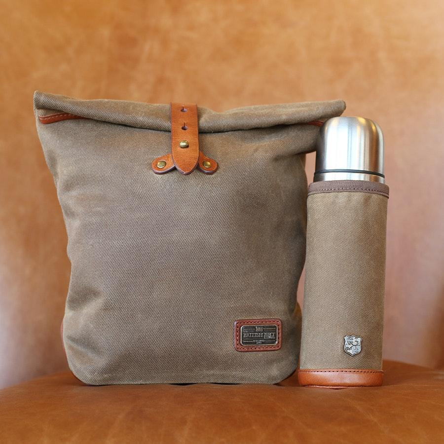 British Belt Co. Langdale Lunch Bag or Flask Sleeve