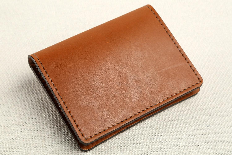 British Belt Co. Shell Cordovan Wallet