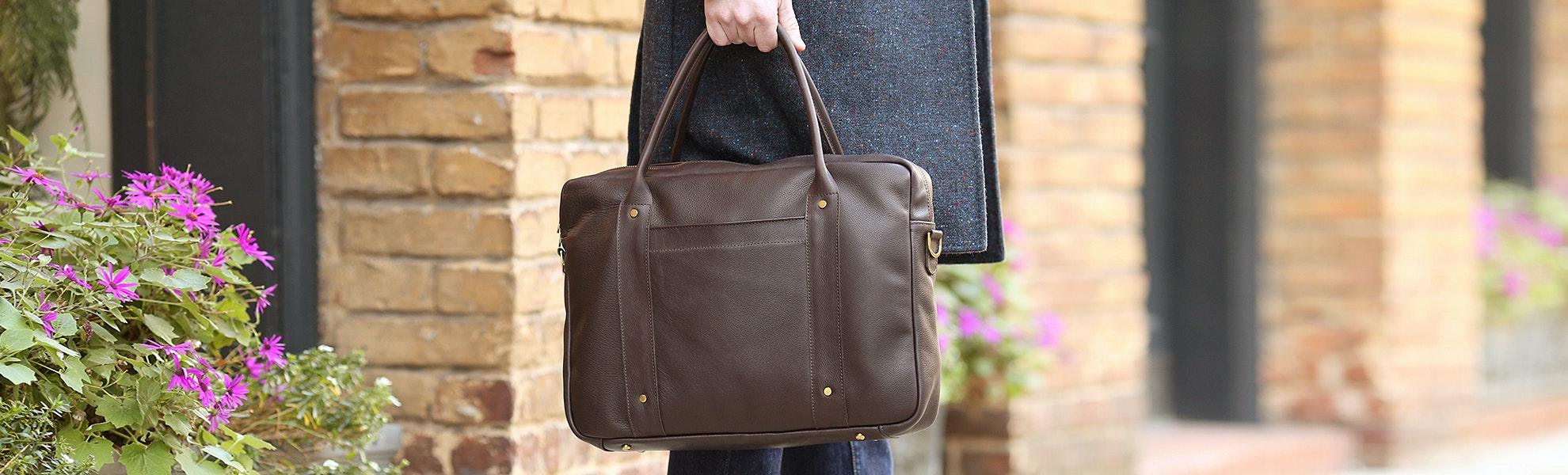 British Belt Co. Stanley Satchel