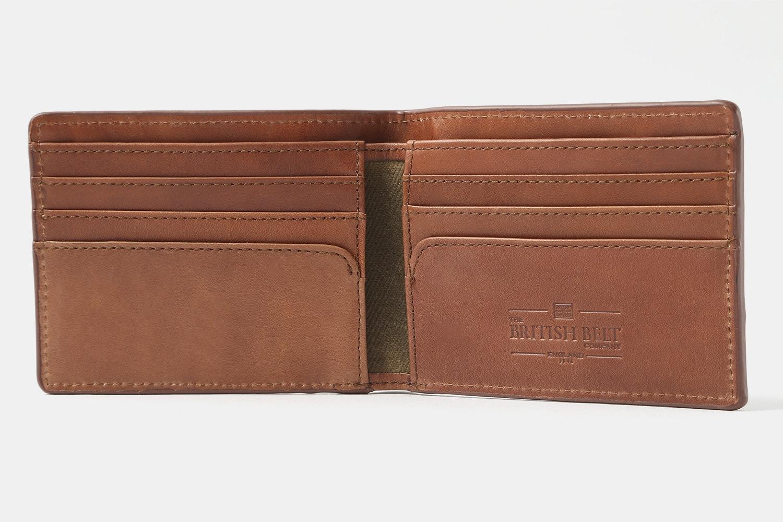 The British Belt Co. Wallet & Cardholder Set