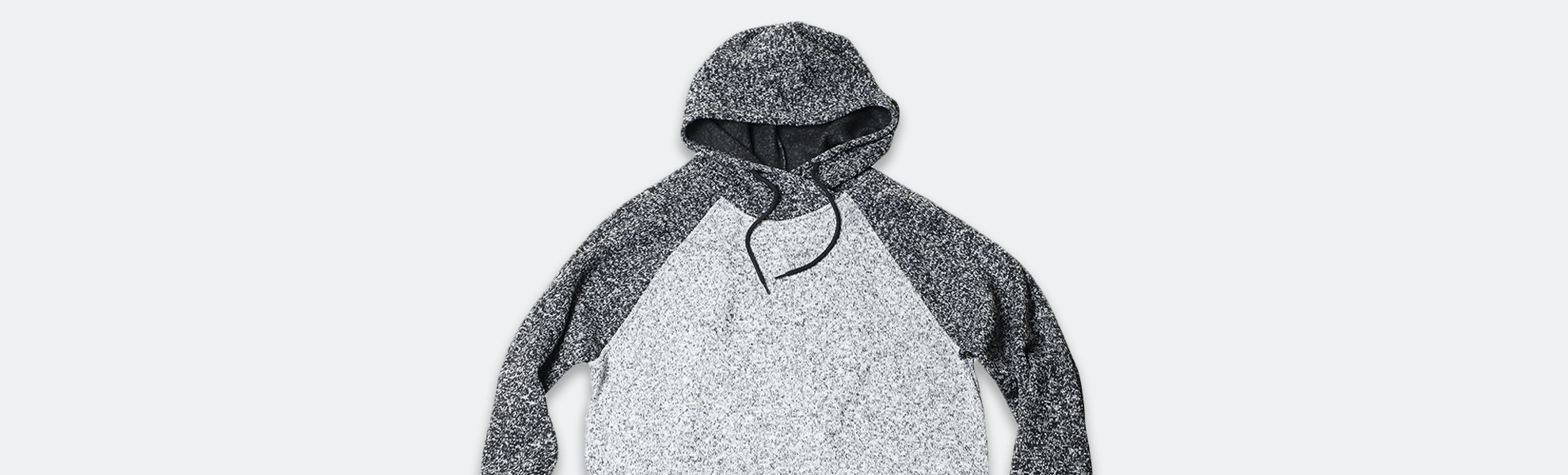 Brooklyn Cloth Color-Blocked Cozy Knit Hoodie