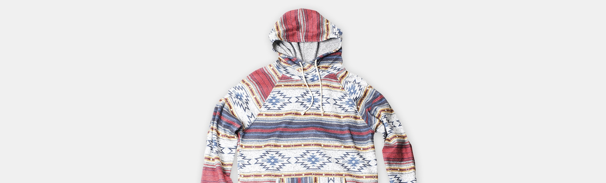 Brooklyn Cloth Cozy Knit Desert Stripe Hoodie