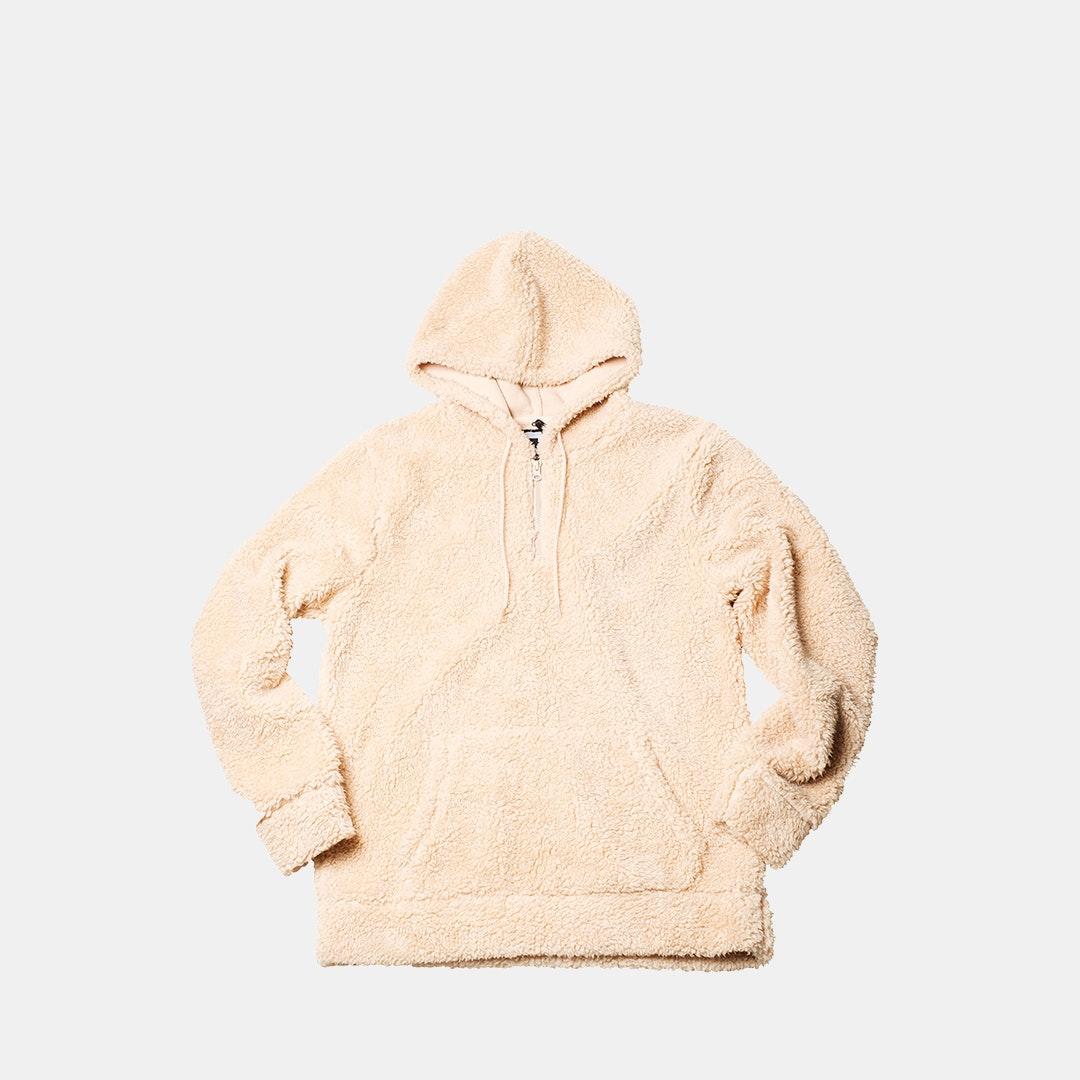 Brooklyn Surf Mens Full Zip Hoodie Sherpa Lined Fleece Hooded Sweatshirt Jacket