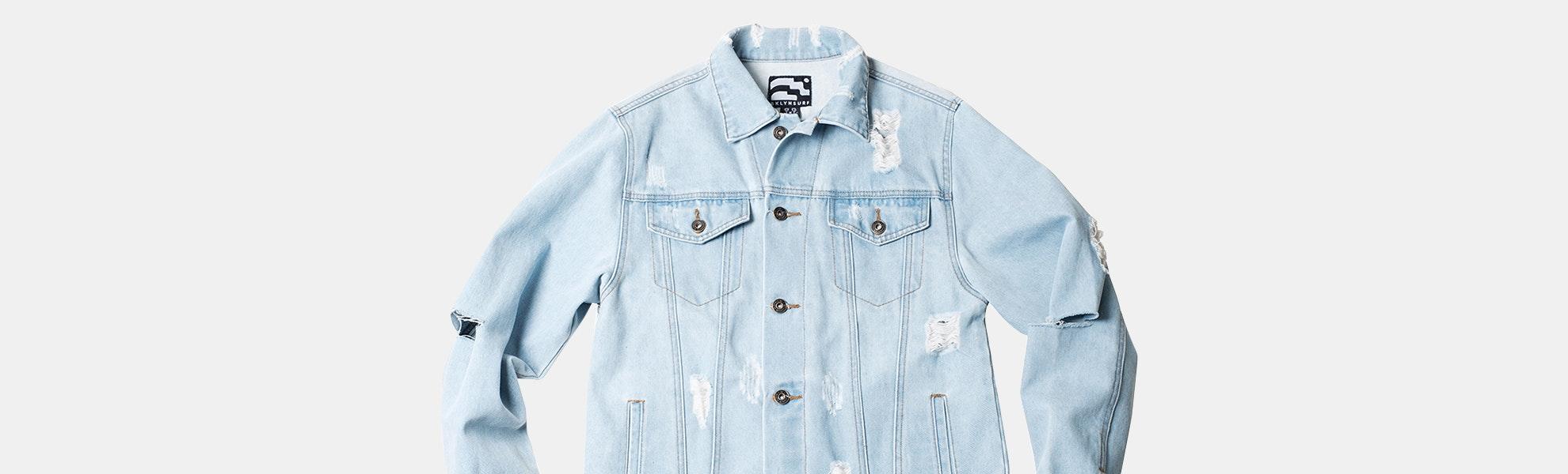Brooklyn Cloth Distressed Denim Jacket