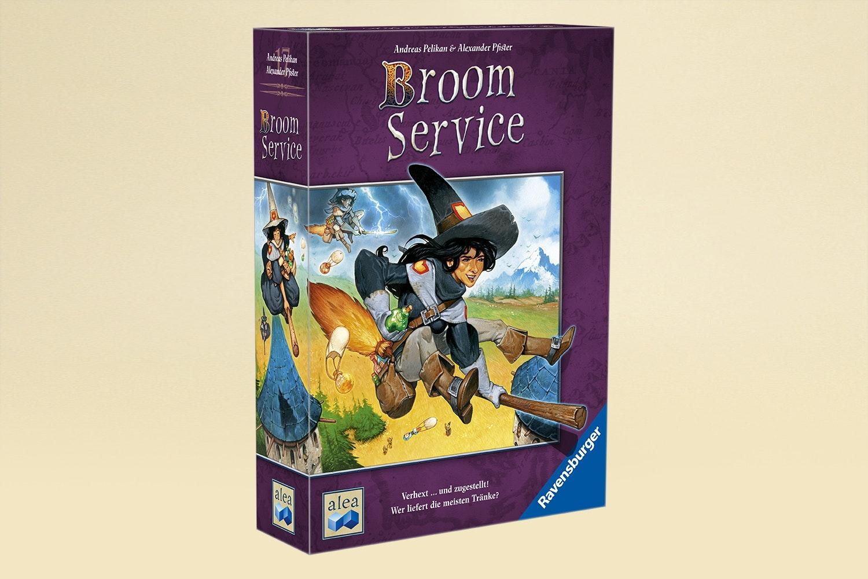 Broom Service Board Game