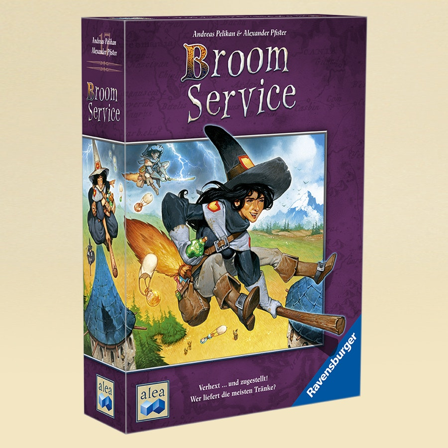 Broom Service Board Game
