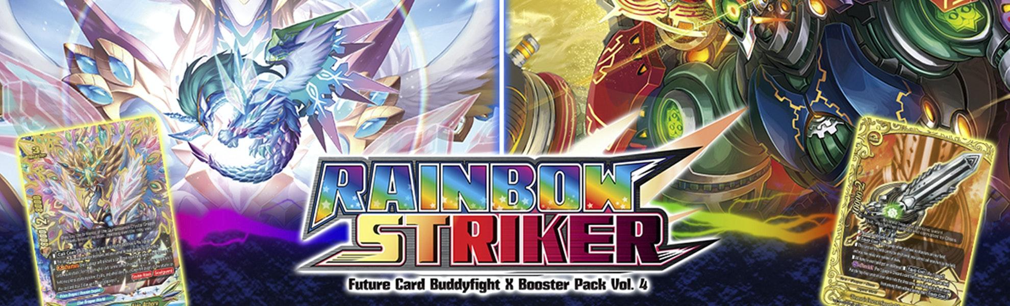 BuddyFight X: Rainbow Striker Booster Box