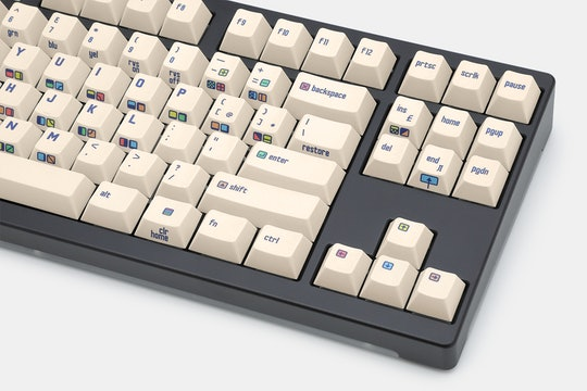 Buger & Hammerworks CRP C64 Dye-Subbed Keycap Set
