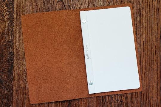 "Bull & Stash ""The Stash"" Leather Notebook"
