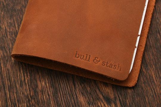 "Bull & Stash ""Travel Stash"" Leather Notebook"