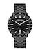 Black dial, PVD SS bracelet 98B218 (+$89)