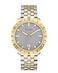 Gray dial, two tone SS bracelet 98B216 (+$89)
