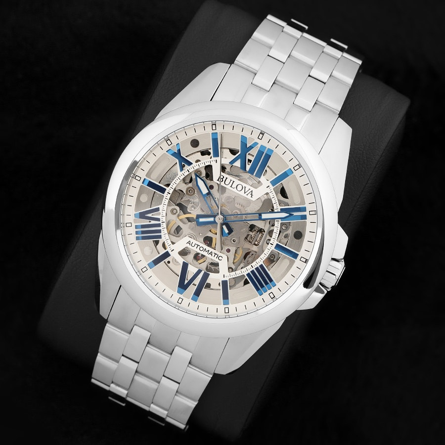 Bulova Automatic Skeleton Watch