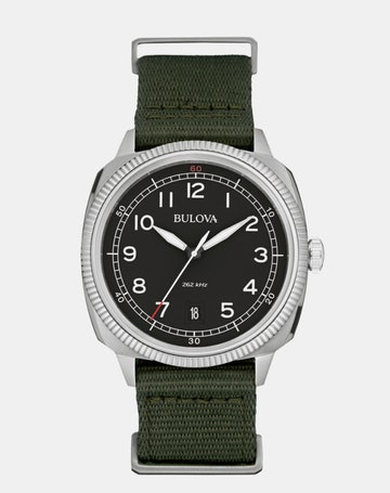 Black dial on Green NATO 96B229
