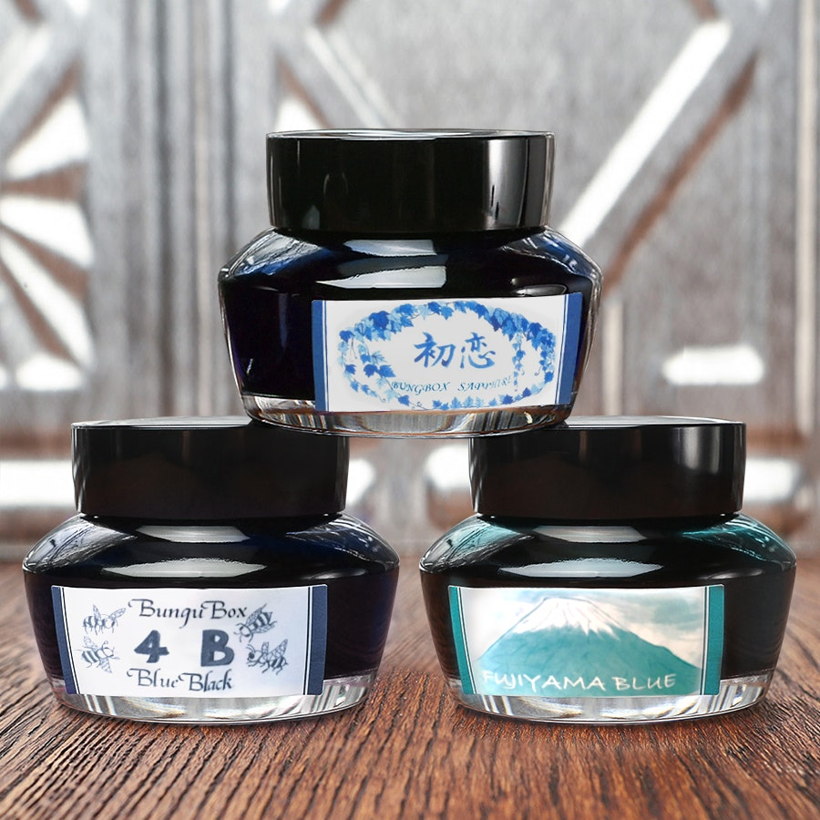 Bungbox Blue Ink Set (3-Pack)