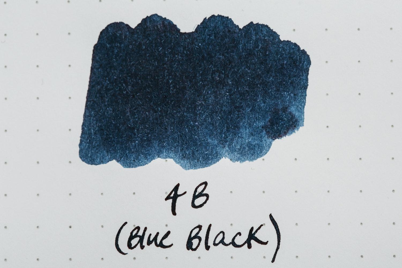 4B (Blue Black)