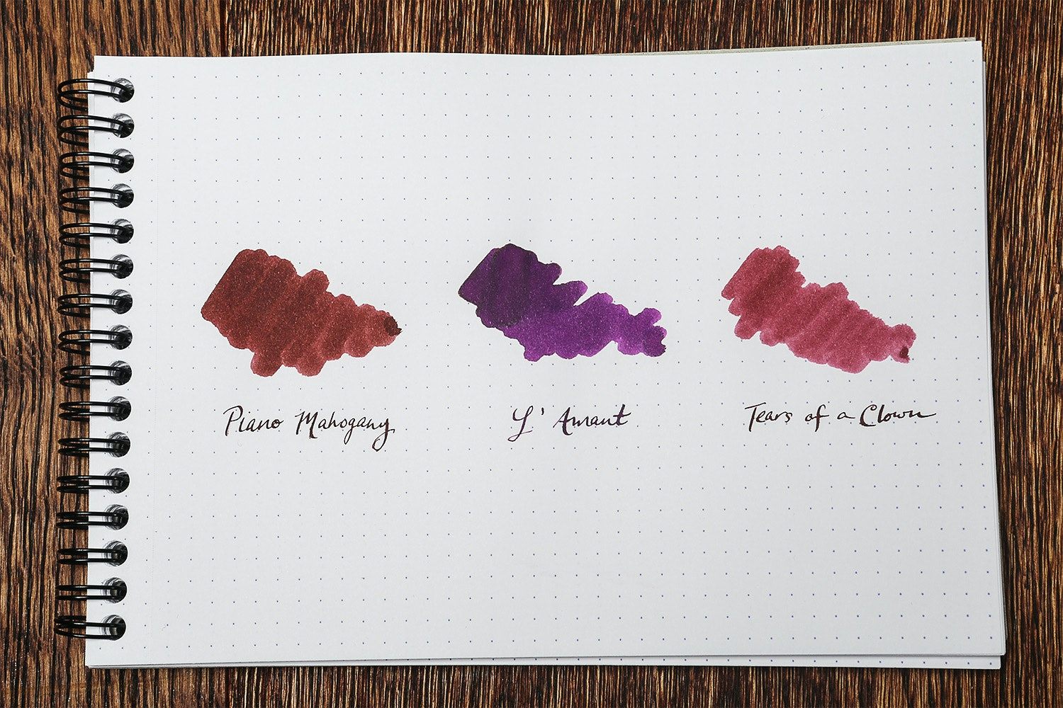 Bungbox Red & Purple Ink Set (3-Pack)
