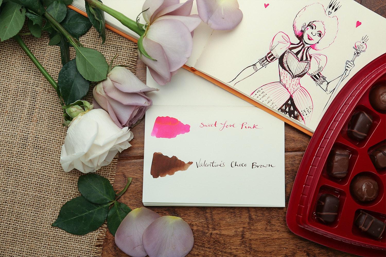 Bungbox Valentine's Ink Pair